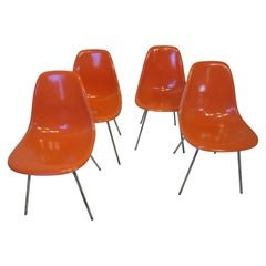 Eames Scoop Dining Side Chairs for Herman Miller