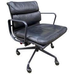 Eames Soft Pad Leather Desk Chair
