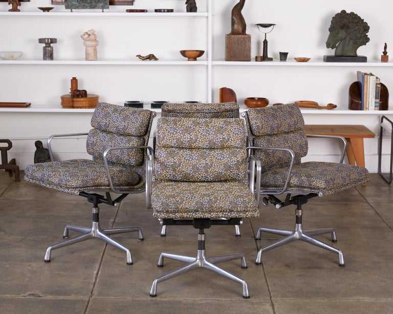 Eames Soft Pad Management Chairs for Herman Miller In Excellent Condition In Los Angeles, CA