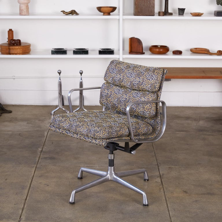 Steel Eames Soft Pad Management Chairs for Herman Miller