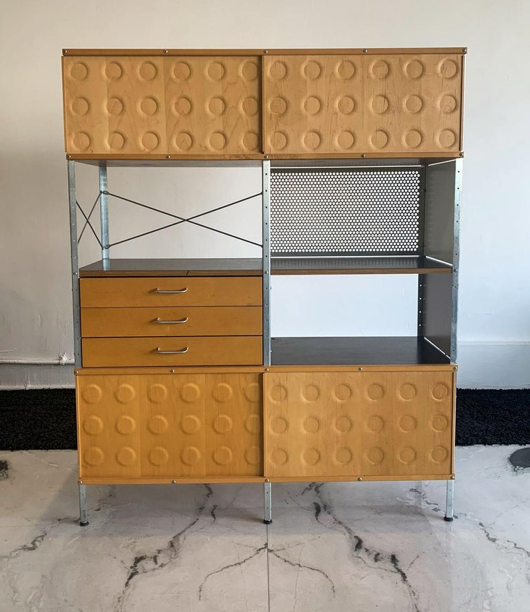 The functional beauty of Eames storage and wall units can be customized to fit your life. Dubbed