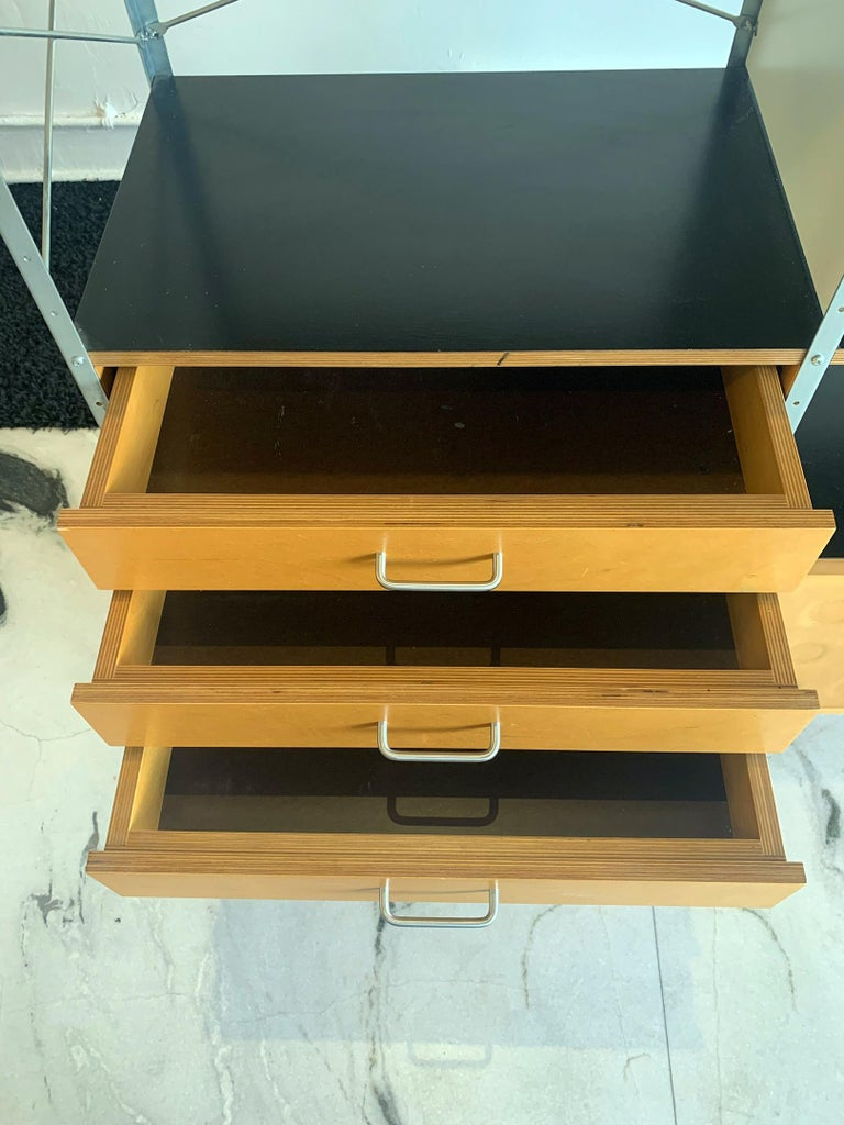 Eames Storage Unit 4x2 Wall Unit, with Herman Miller COA 2