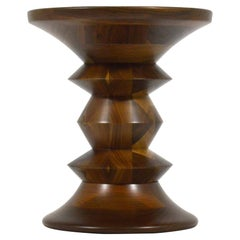 Eames Time-Life Walnut Stool by Herman Miller