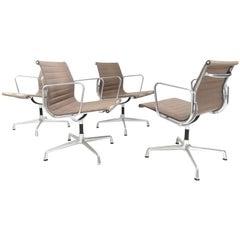 Eames Vitra Aluminium Desk Office Armchair EA 107 Midcentury