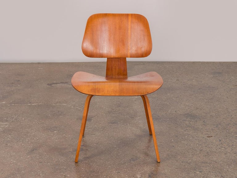 Excellent Eames Walnut Dcw For Herman Miller Pabps2019 Chair Design Images Pabps2019Com