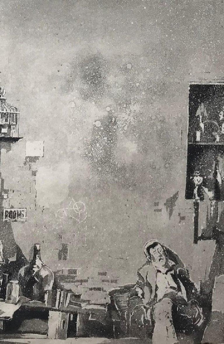 Junk Shop (Philadelphia) - American Modern Print by Earl Horter