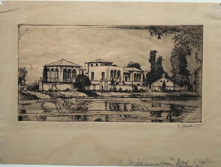 The Arthur Williams Estate - Print by Earl Horter