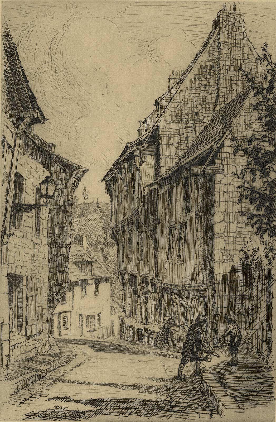 Rue droit a L'Escaole