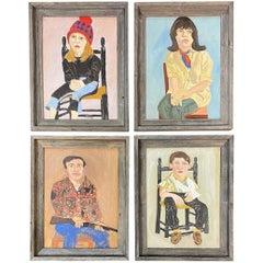 Portraits of Judy Hasch, Laura Gehest, Sam Burgess (Gunsmith), & Steve O'Brien