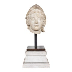 Early 1600s, Marble Bust of Athena