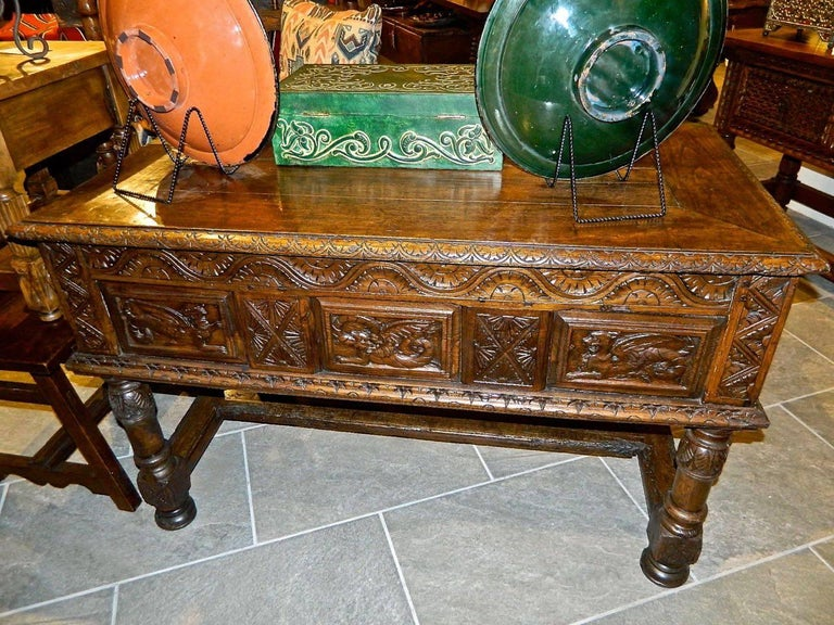 Early 17th Century Spanish Table Chest,