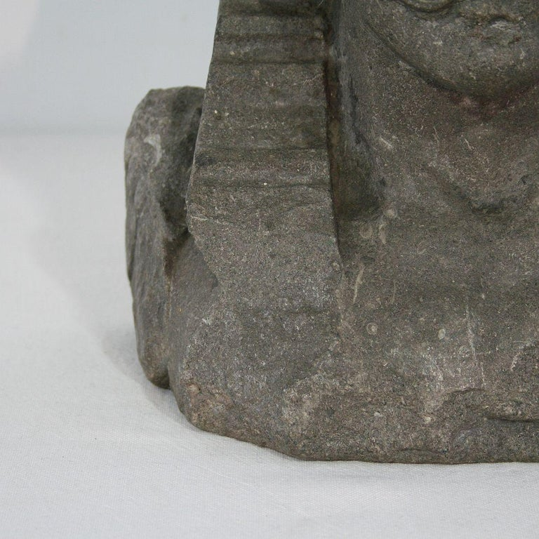 Early 17th Century Carved Stone Renaissance Bust For Sale 11