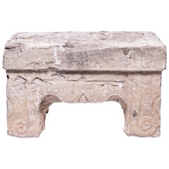 Early 17th Century Chinese Ming Stone Table