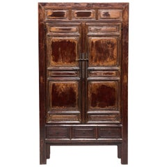 Early 17th Century Chinese Paneled Cabinet