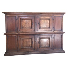 Early 17th Century Italian Cabinet Cupboard
