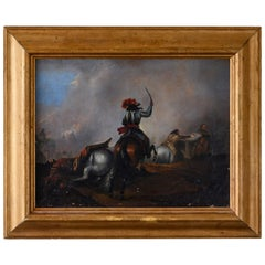 Early 18th Century Battle Painting