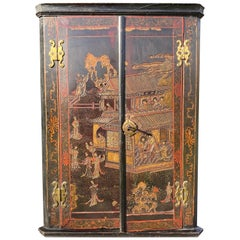 Early 18th Century Coromandel Lacquer Corner Cabinet