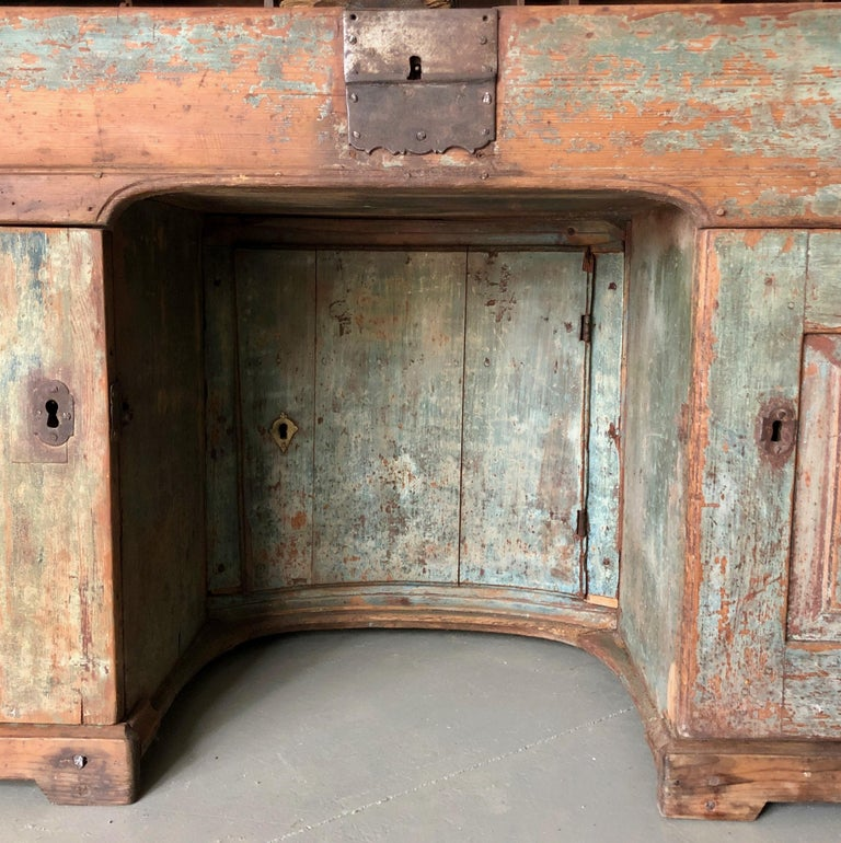 Early 18th Century French Monastery Writing Desk For Sale 6