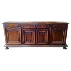 Early 18th Century French Provincial Regence Period Walnut Buffet