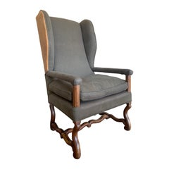 Early 18th Century French Wingchair