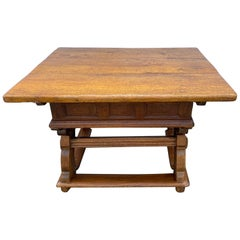 Early 18th Century German Farm Table With Table-top