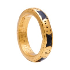 Early, 18th Century, Gold, Memento Mori Ring