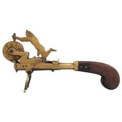 Early 18th Century Gunpowder Tester Signed F. Richter