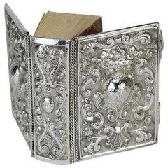 Early 18th Century Italian Silver Book Binding