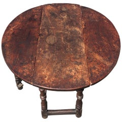 Early 18th Century Jacobean Elm Table