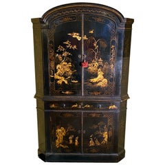 Early 18th Century Japanned Double Corner Cabinet