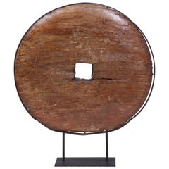 Early 18th Century Large African Wheel