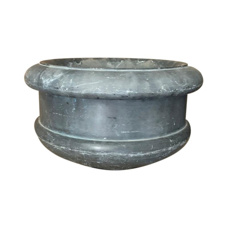Early 18th Century Marble Planter Mortar