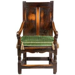Early 18th Century Oak Armchair