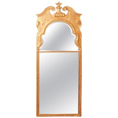 Early 18th Century Queen Anne Period Giltwood Pier Mirror