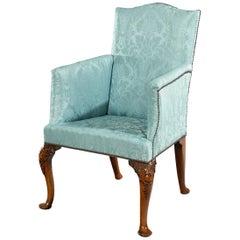 Early 18th Century Queen Anne Period Walnut Armchair