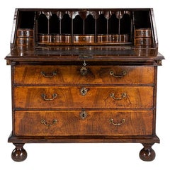 Early 18th Century Queen Anne Walnut Bureau