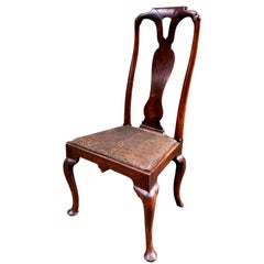 Early 18th Century Queen Anne Walnut Side Chair