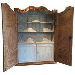 Early 18th Century Regence Cupboard Armoire Buffet