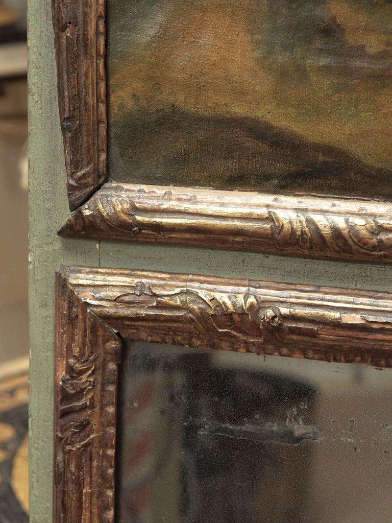 Gilt Early 18th Century Regence Trumeau For Sale