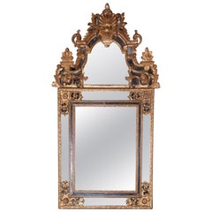 Early 18th Century Gold Regency Giltwood Mirror
