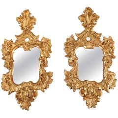 Early 18th Century Venetian Giltwood Wall Mirrors