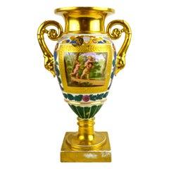 Early 19th Century Paris Porcelain Vase