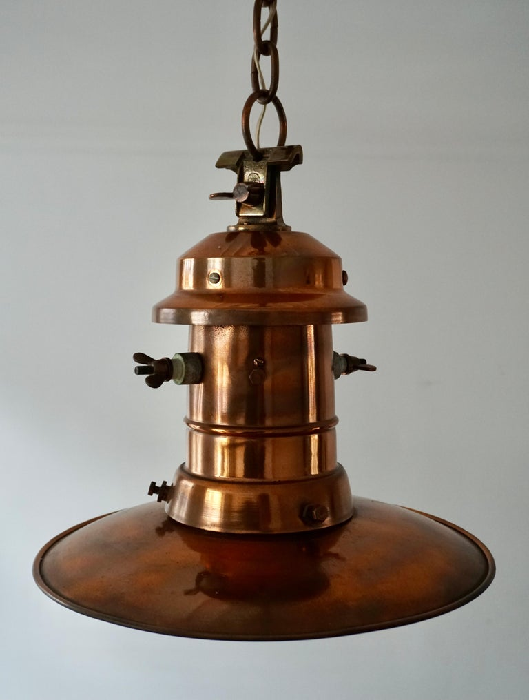 Beautiful antique street gas lantern converted to electric.   It does not matter whether you are decorating an Art Deco, a Mid-Century Modern or a contemporary home or office, if you have the right space for it then this stunning, timeless and