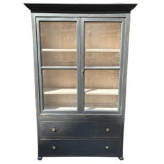 Early 1900 French Display Cabinet / Tallboy