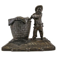 Early 1900 Russian Inkwell