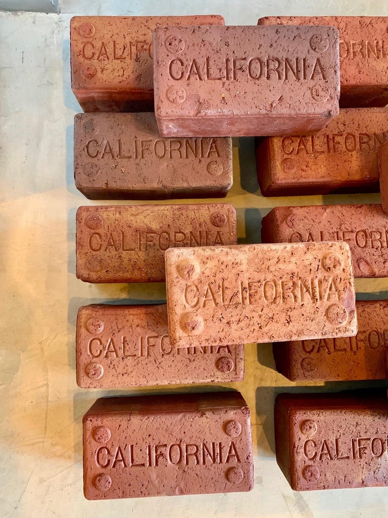 American Early 1900s California Bricks For Sale