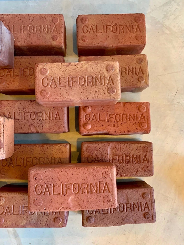 20th Century Early 1900s California Bricks For Sale