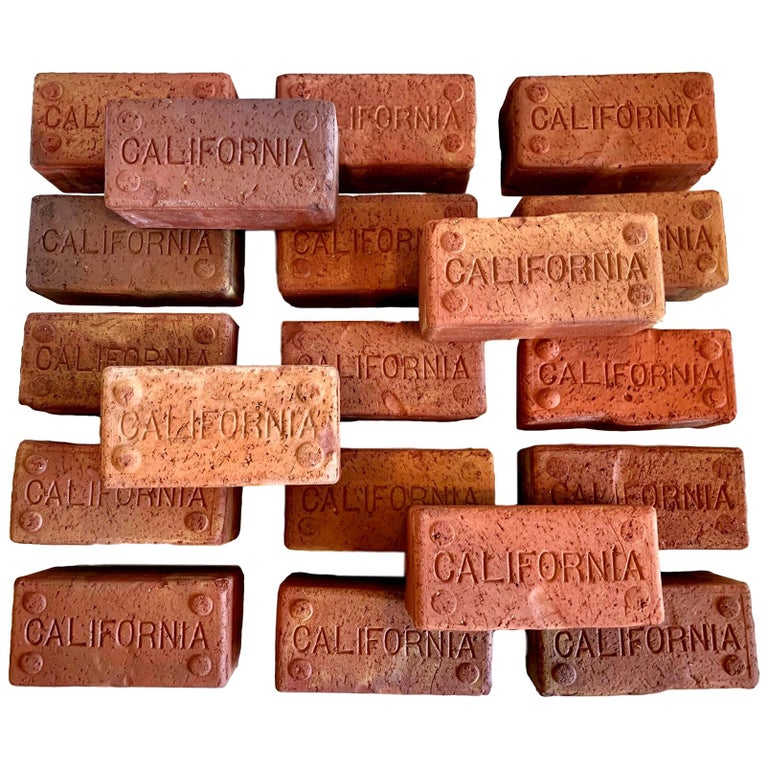 Early 1900s California Bricks For Sale