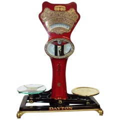 Early 1900s Dayton Style 120 Computing Scale Co.