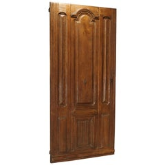 Early 1900s French Louis XIV Style Oak Entry Door